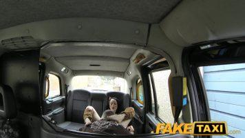 هذه الشابة تريد المشاركة في مهرجان الغابة ، لكن سائق التاكسي هذا